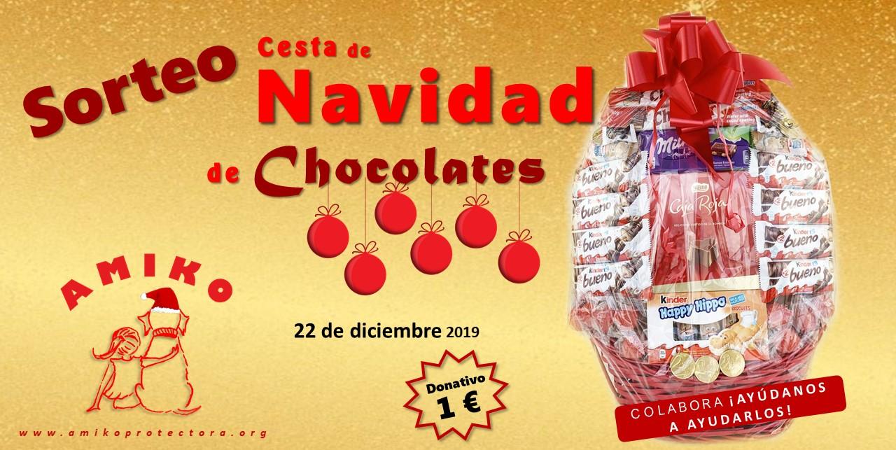 Bases sorteo Cesta de Navidad de Chocolates 2019