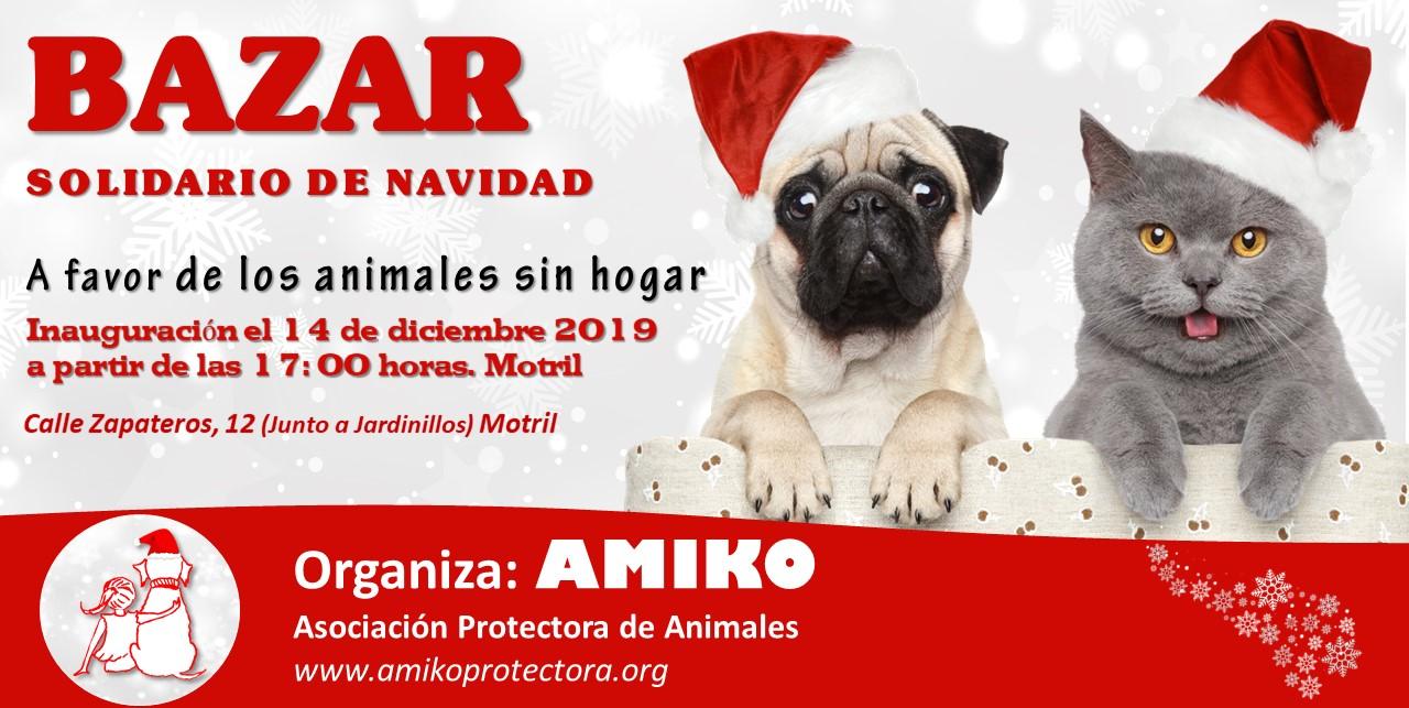 Bazar Solidario de Navidad, AMIKO.